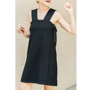 Madewell Starlight Side Tie Mini Dress